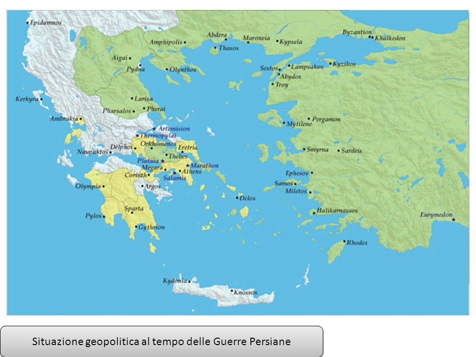 Situazione geopolitica nell Egeo nel periodo della Lega Delio Attica