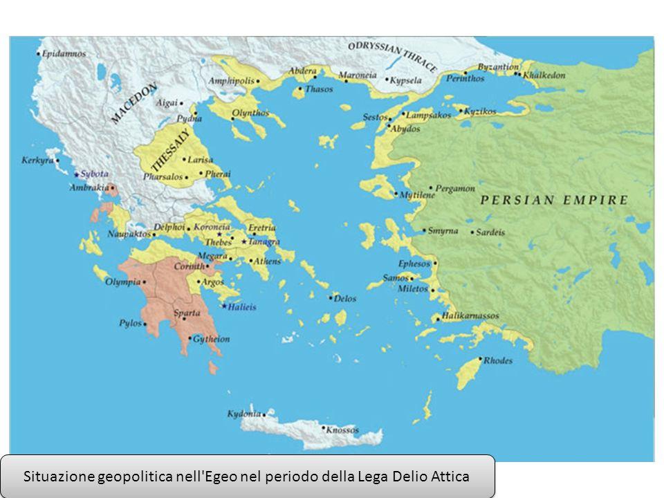 Situazione geopolitica nell Egeo nel periodo della Guerra del Peloponneso