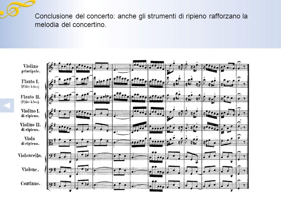 Inizio del secondo assolo del violino principale.
