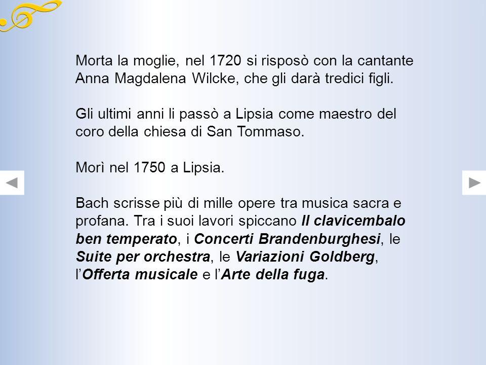 Conclusione del concerto: anche gli strumenti di ripieno rafforzano la melodia del concertino.