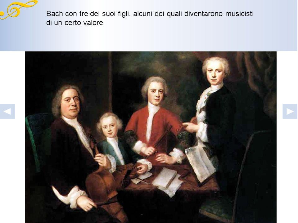 Morta la moglie, nel 1720 si risposò con la cantante Anna Magdalena Wilcke, che gli darà tredici figli. Gli ultimi anni li passò a Lipsia come maestro