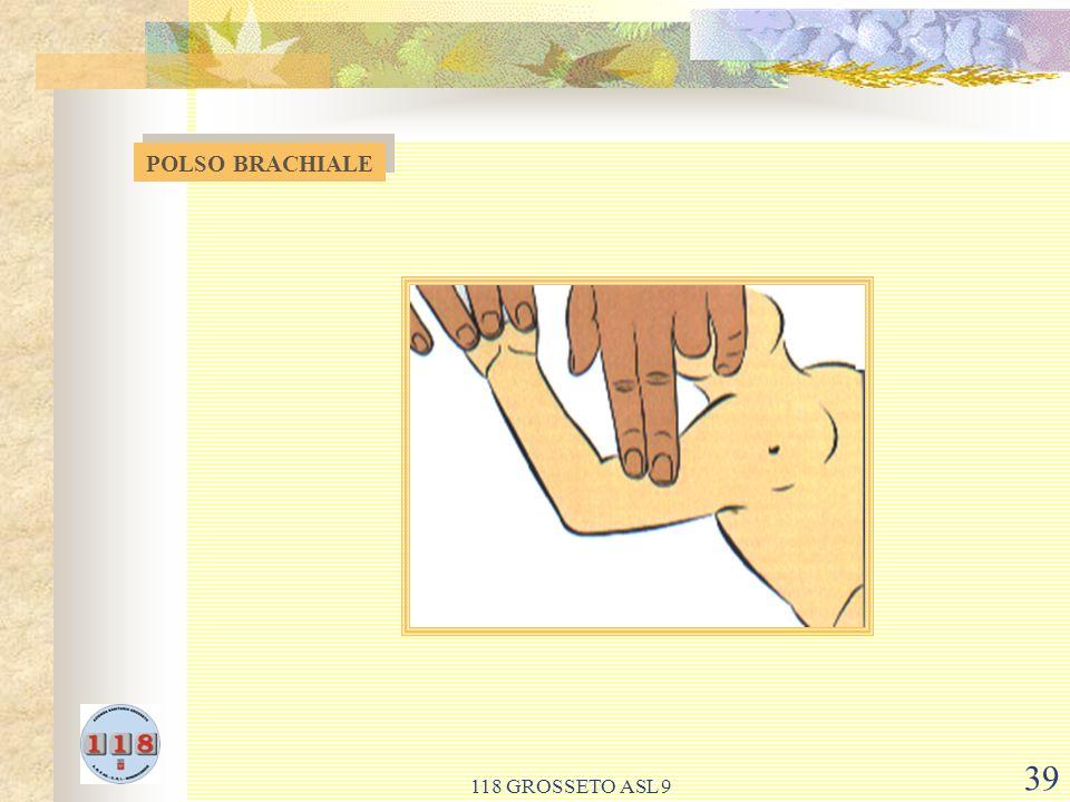 118 GROSSETO ASL 9 39 POLSO BRACHIALE