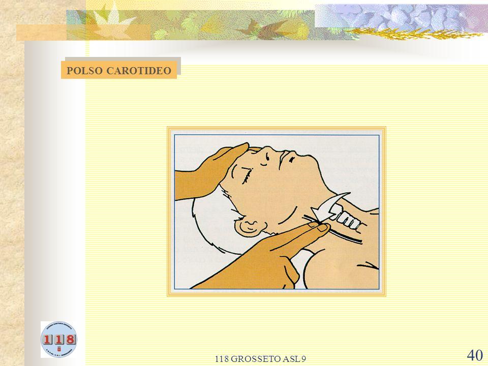 118 GROSSETO ASL 9 40 POLSO CAROTIDEO