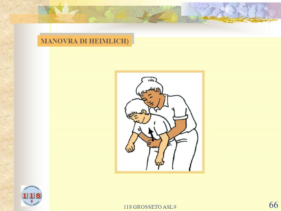 118 GROSSETO ASL 9 66 MANOVRA DI HEIMLICH)