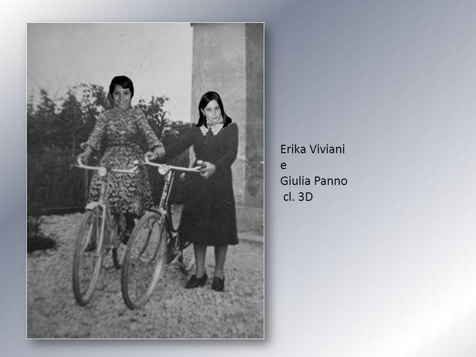 Erika Viviani e Giulia Panno cl. 3D