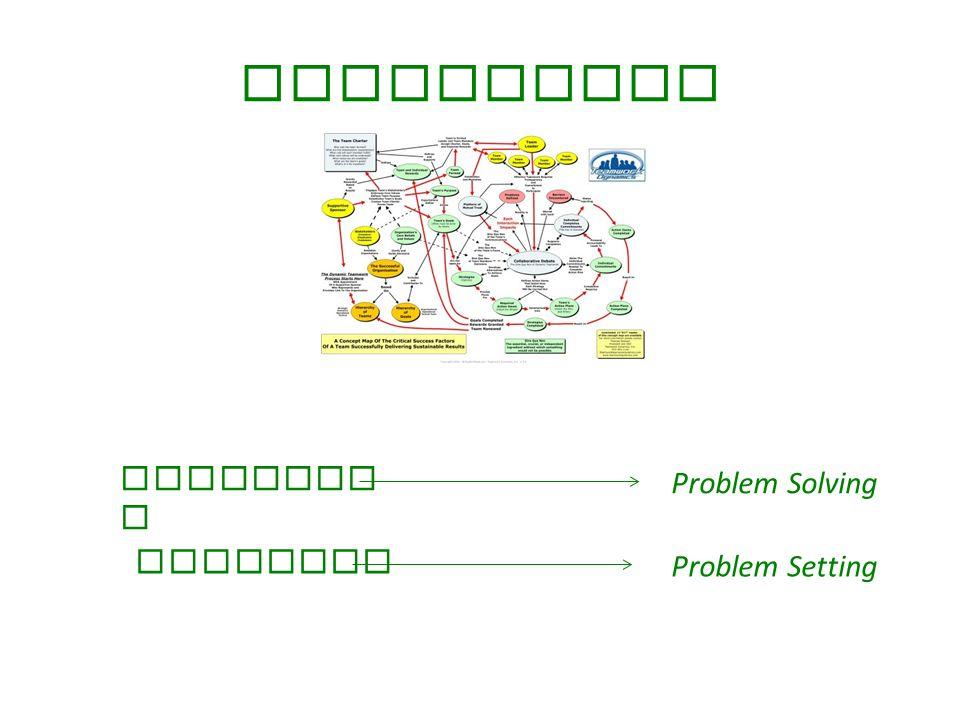 Attenzione PATOLOGI A PROBLEMI Problem Solving Problem Setting
