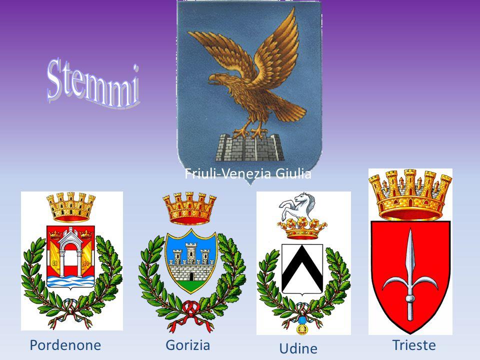 Friuli-Venezia Giulia TriesteGorizia Udine Pordenone