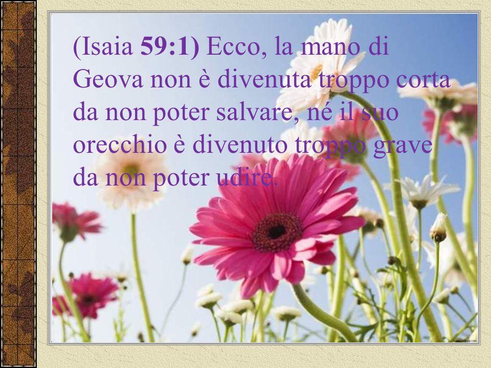 Le promesse di Geova