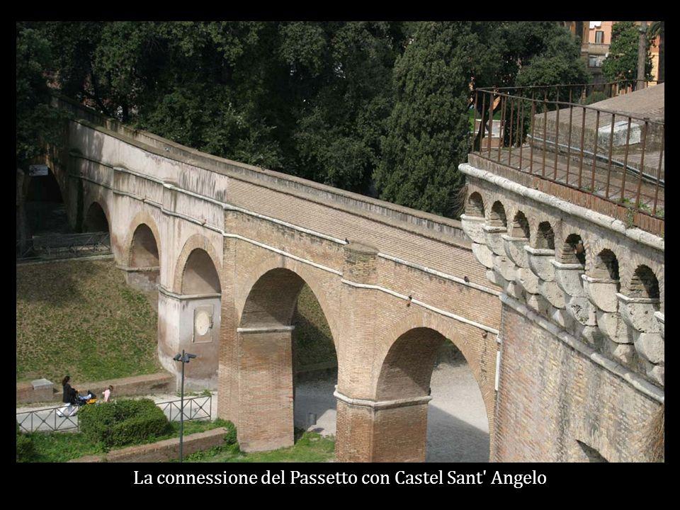 La connessione del Passetto con Castel Sant Angelo