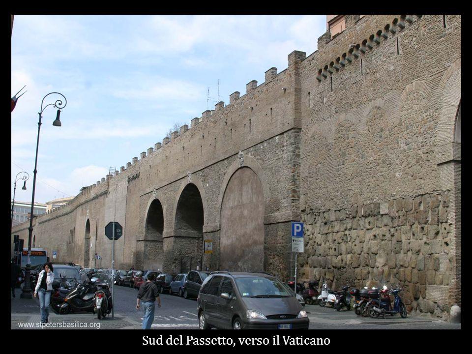 Sud del Passetto, verso il Vaticano