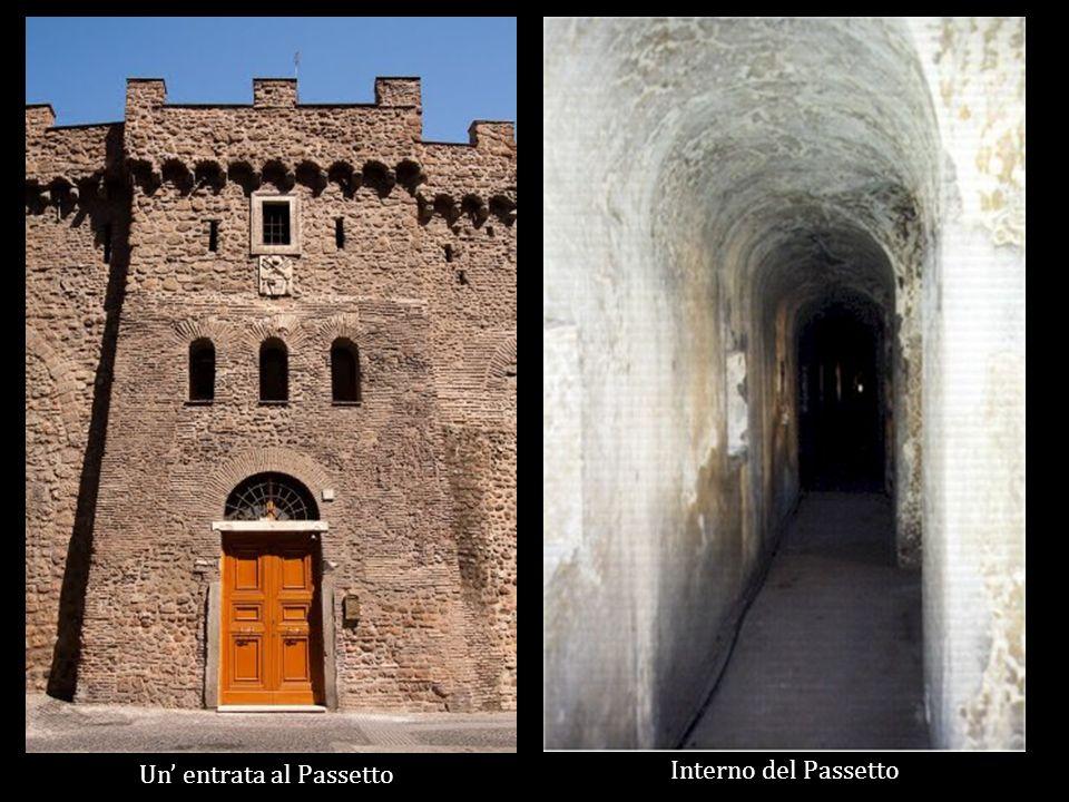 Un entrata al Passetto Interno del Passetto