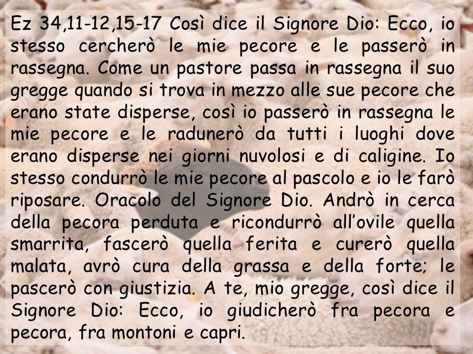 Anno A Domenica XXXIV ultima domenica dellanno Domenica XXXIV ultima domenica dellanno 20 novembre 2011 Solennità di Nostro Signore Gesù Cristo Re del