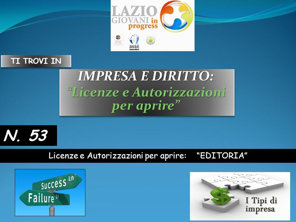 Impresa e Diritto, Licenze e Autorizzazioni, Editoria Definizione La Legge 7 marzo_2001, n.