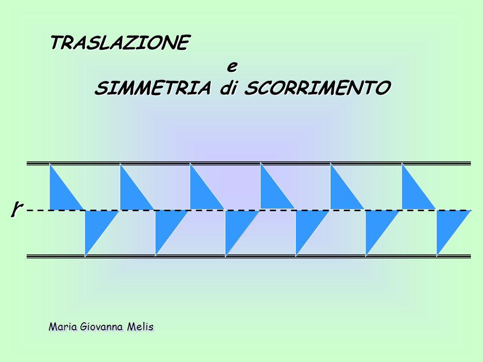SIMMETRIA rispetto a una retta perpendicolare a r SIMMETRIA rispetto a una retta perpendicolare a r r Maria Giovanna Melis