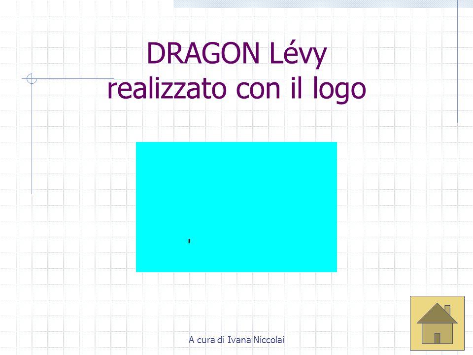 A cura di Ivana Niccolai Crescita di Dragon Lévy (di Giorgio Pietrocola) Lanimazione mostra chiaramente una modalità per costruire la curva del drago, per accumulazioni successive tramite traslazione e successiva rotazione di 90° a ogni passo della costruzione.