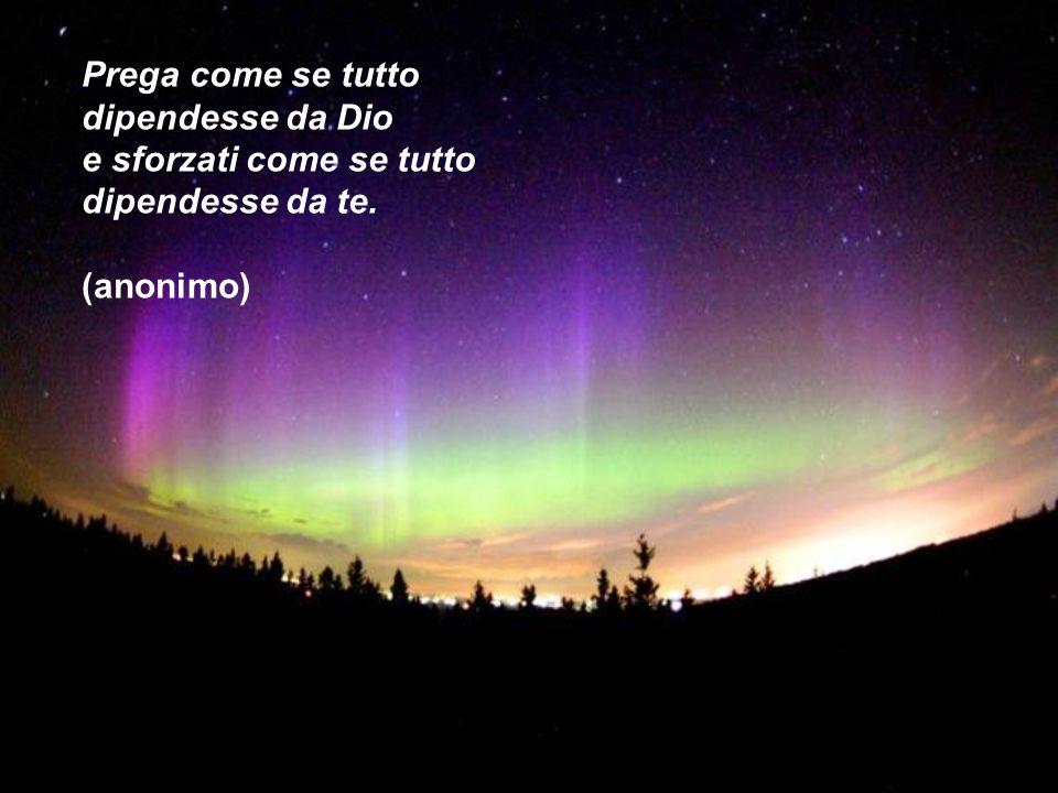 Il cammino della vita è fatto sotto il cielo della Misericordia di Dio. S. Venturini