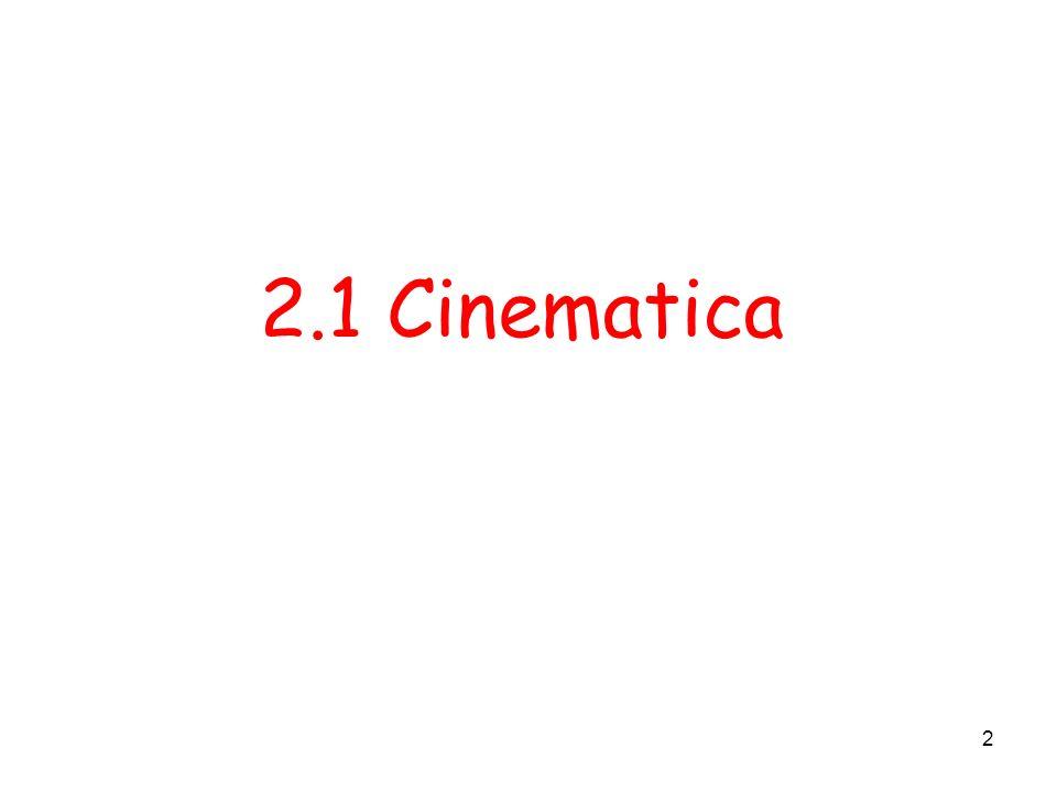 2 2.1 Cinematica