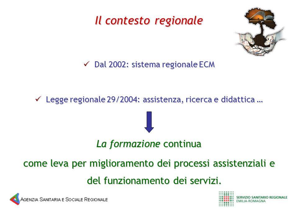 Legge regionale 29/2004: assistenza, ricerca e didattica … Legge regionale 29/2004: assistenza, ricerca e didattica … Il contestoregionale Il contesto
