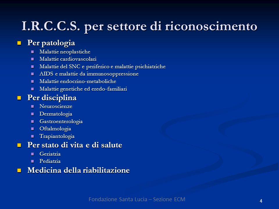 4 I.R.C.C.S.