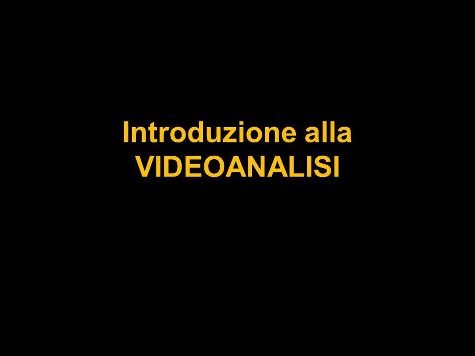 Introduzione alla VIDEOANALISI