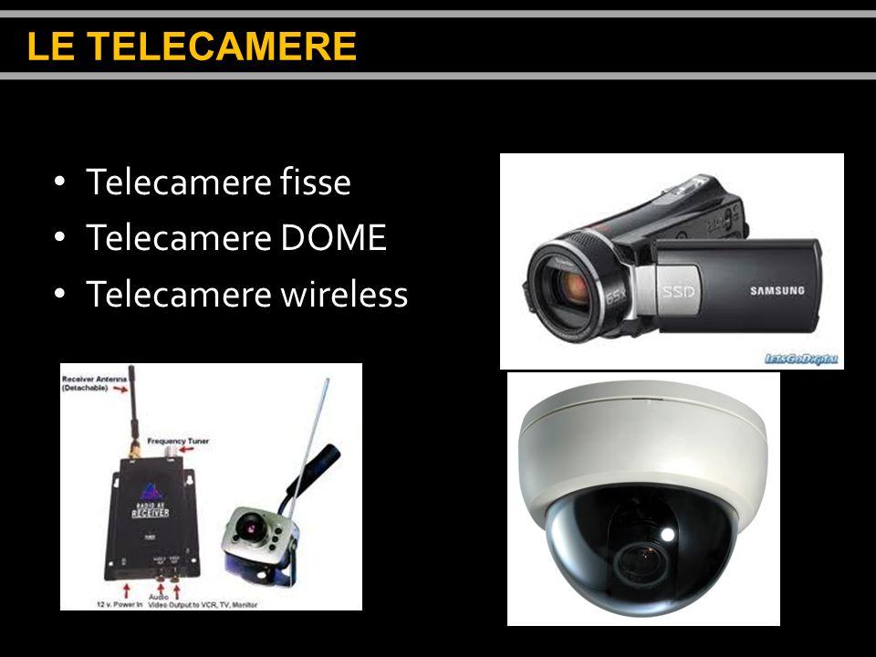 Telecamere fisse Telecamere DOME Telecamere wireless LE TELECAMERE