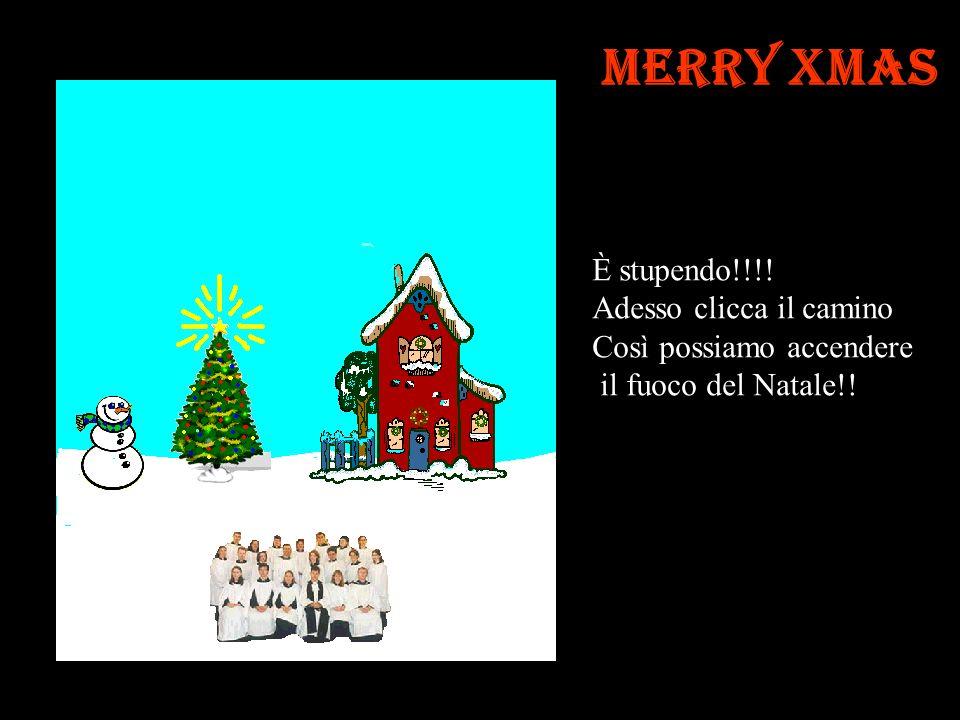 Merry Xmas Questo è lo spirito di Natale Adesso clicca lalbero per Accendere le luci di Natale …..