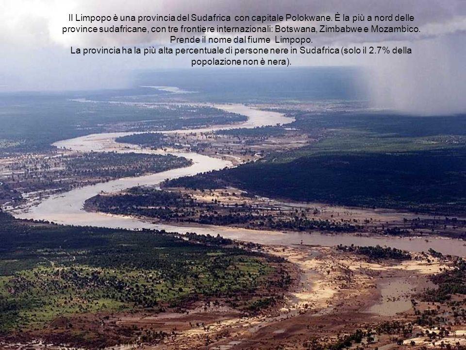 Il Limpopo è una provincia del Sudafrica con capitale Polokwane.