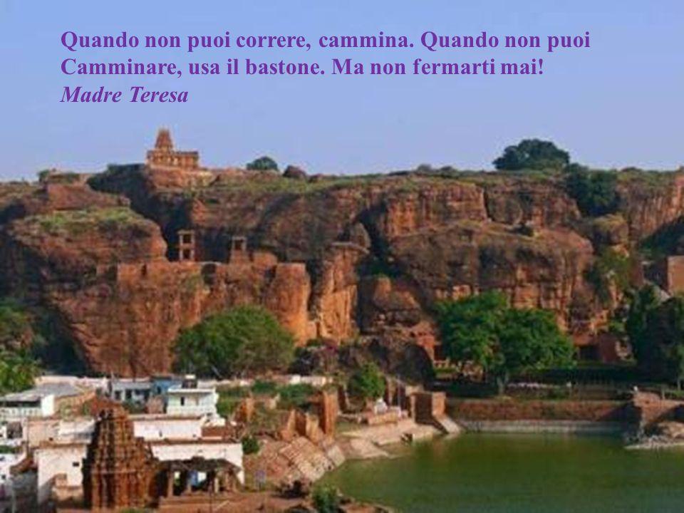 Non cè cammino per la pace, La pace è il cammino. Mahatma Gandhi