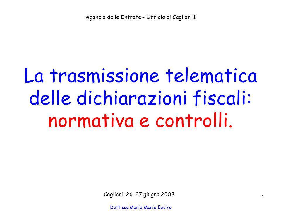Dott.ssa Maria Monia Bovino 52 Revoca dellabilitazione Iter La revoca è emanata tramite provvedimento ed è notificata almeno 30 giorni prima della decorrenza.