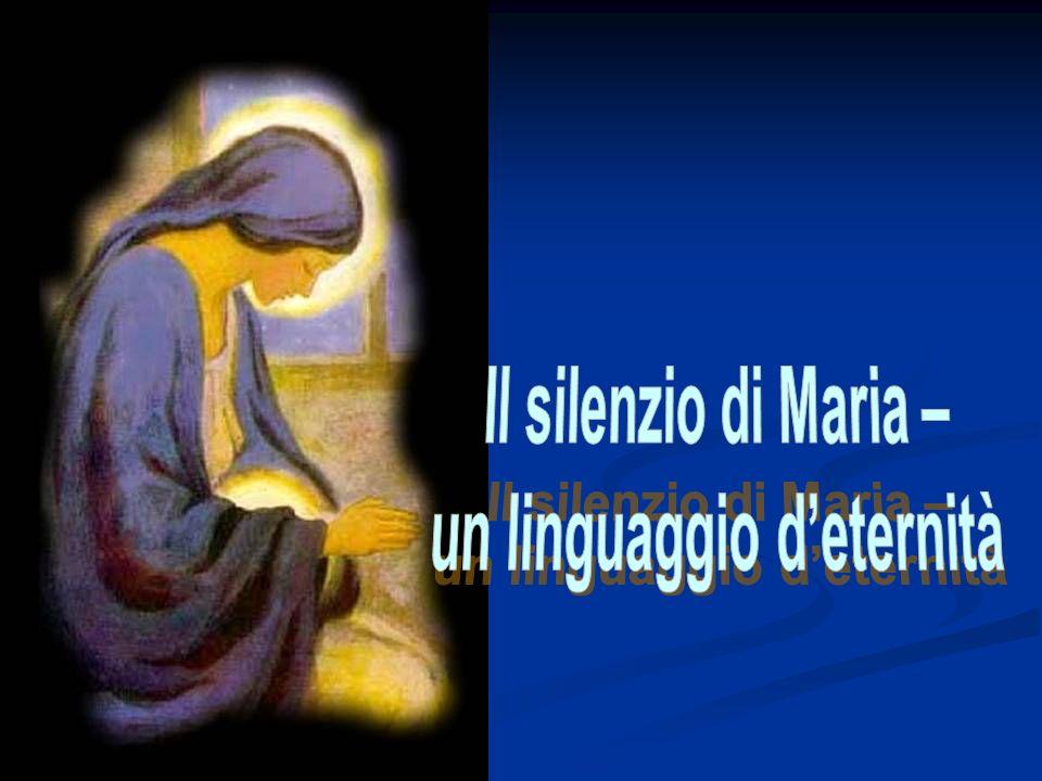 Silenzio di chi prega, silenzio di chi è in pace, silenzio di chi è uno nello spirito.