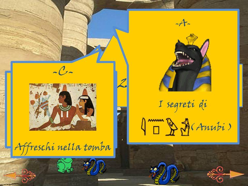 11 Tutte le attività didattiche iniziano con la visita della tomba di Sethi I, questa brutta ghigna qua: