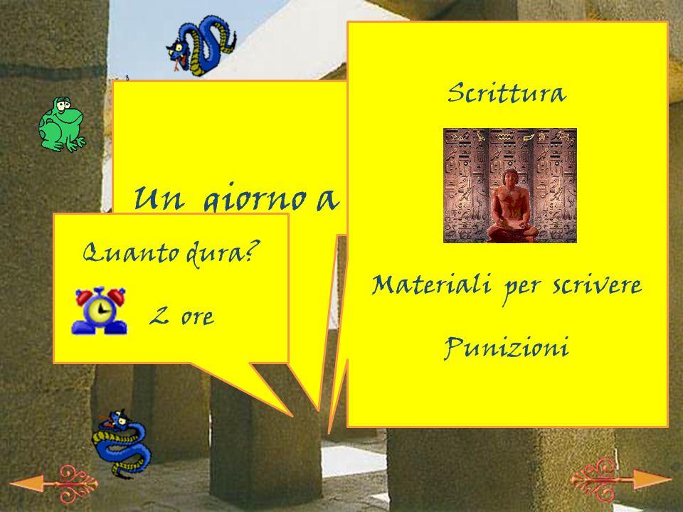 13 -A- I segreti di Anubi Imbalsamazione Culto funerario Corredo (tutto da costruire) Quanto dura.