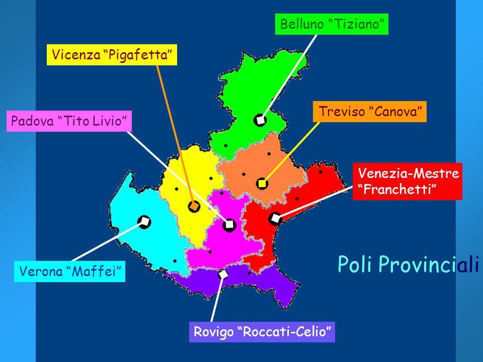 Stefano Quaglia DirVeneto 2004 Venezia-Mestre Franchetti Rovigo Roccati-Celio Verona Maffei Padova Tito Livio Vicenza Pigafetta Treviso Canova Belluno