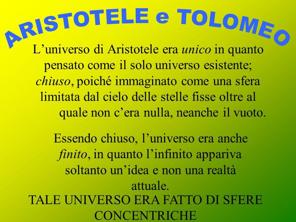 La terza tesi, già presente negli atomisti ed in Cusano, implica il superamento del «dualismo astronomico» tolemaico (tra mondo soprannaturale e mondo sublunare) e lunificazione del cosmo in una sola, immensa regione.