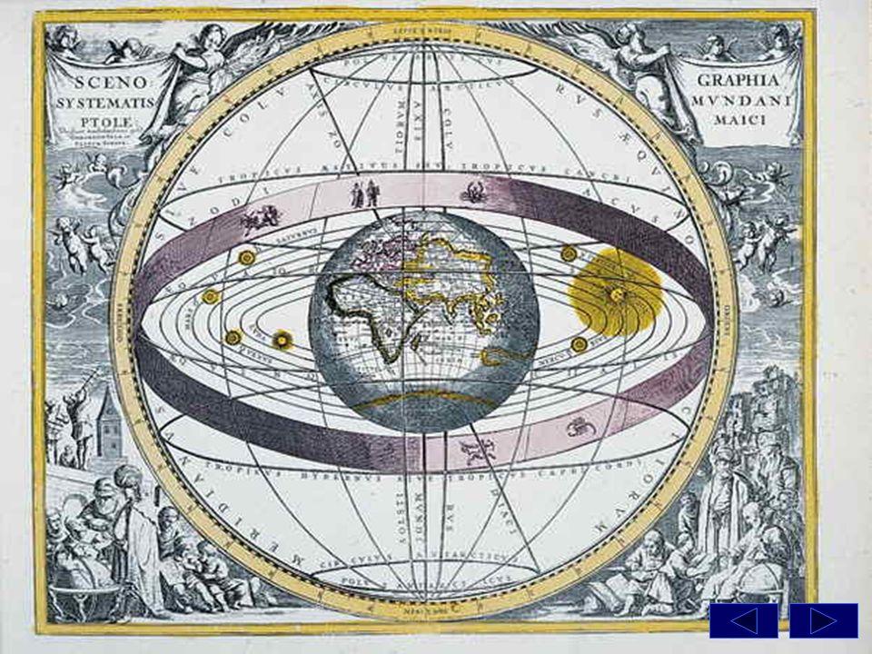Si avevano così, oltre alla sfera delle stelle fisse, i cieli di Saturno, Giove, Marte, Mercurio, Venere, Sole, Luna.
