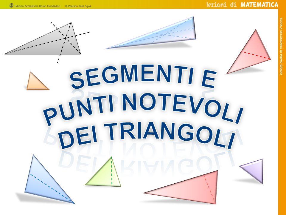 Laltezza di un triangolo è il segmento di perpendicolare condotto da un vertice alla retta cui appartiene il lato opposto.