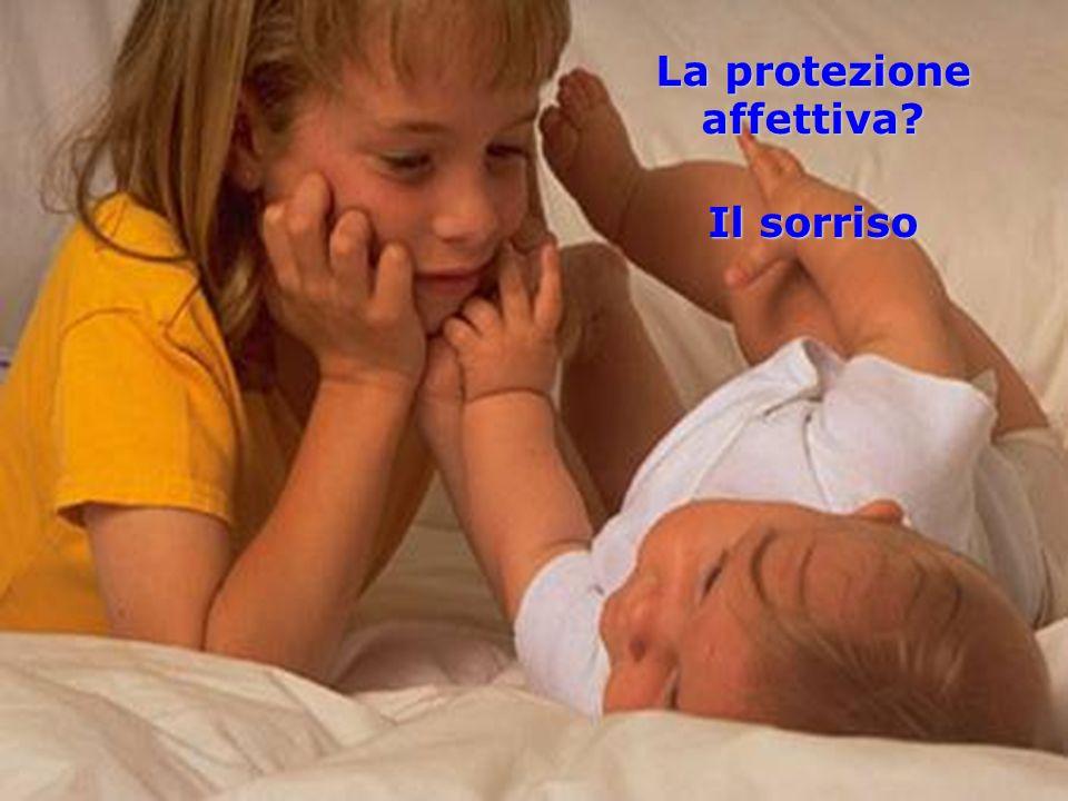 La protezione affettiva? Il sorriso