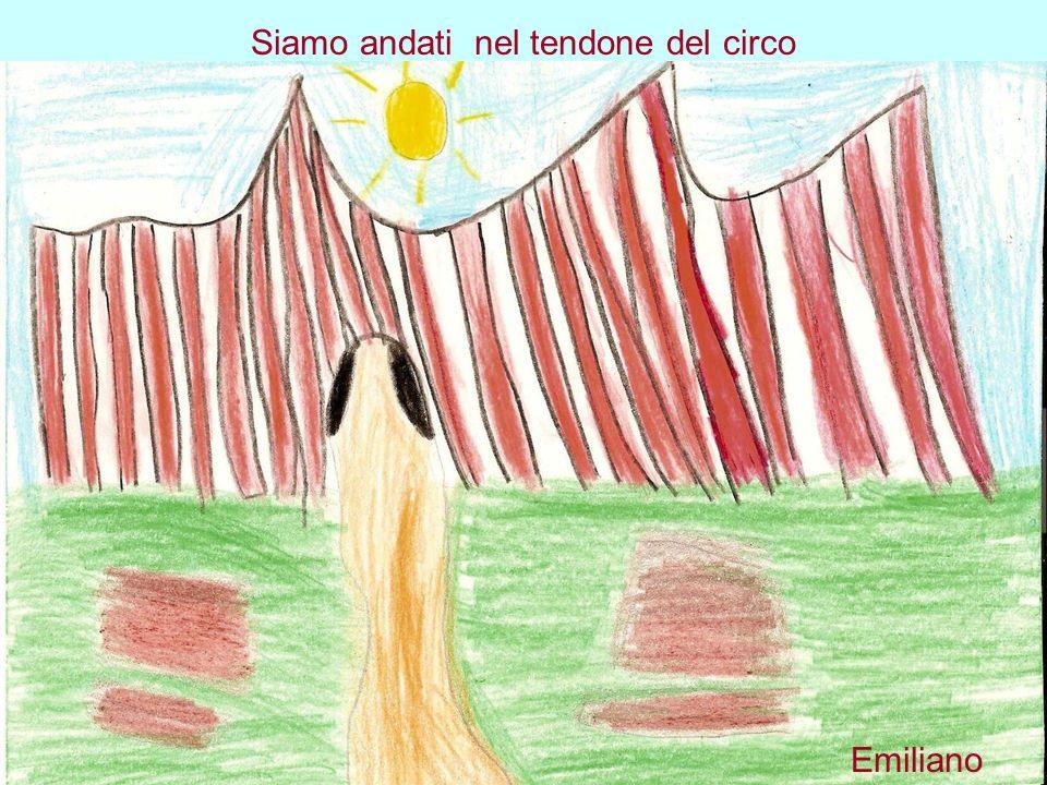 Siamo andati nel tendone del circo Emiliano