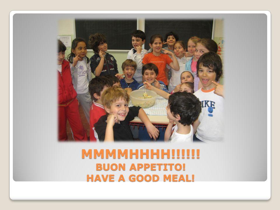 Ricetta preparata dai bambini e dalle bambine della classe IIIB durante il mese di aprile 2009 guidati dallinsegnante Cinzia Callegaro.