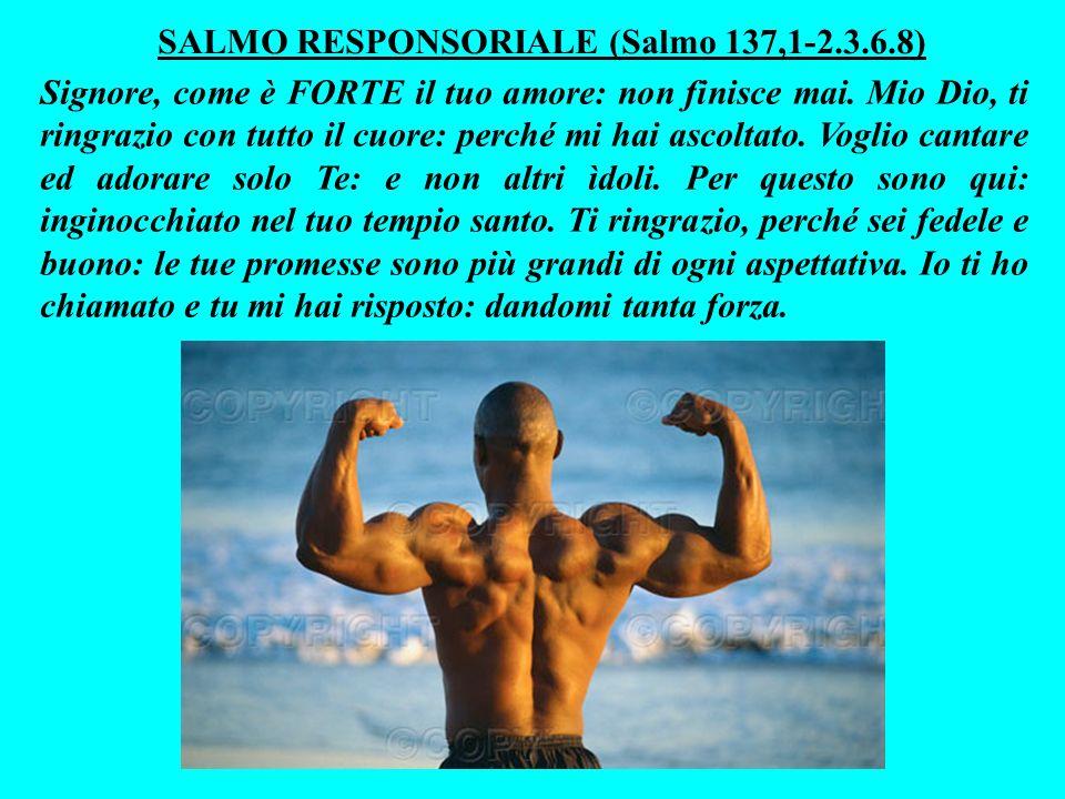 La sua famiglia potrà gloriarsi di lui, perchè Dio lo renderà stabile: come un punteruòlo conficcato nella pietra.
