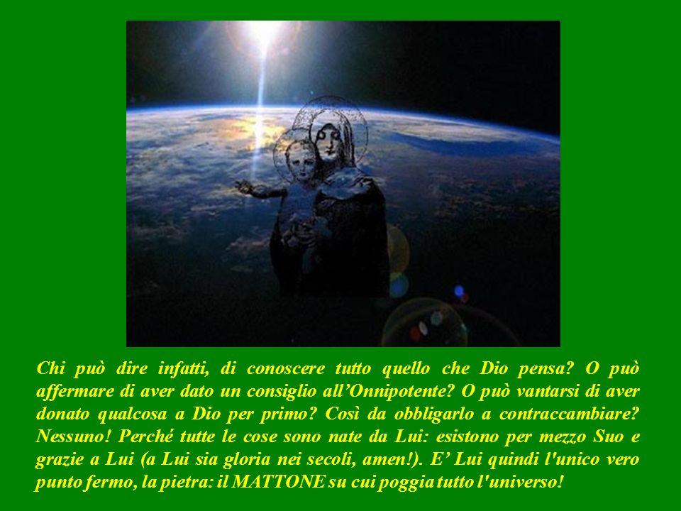 SECONDA LETTURA (dalla lettera di Paolo ai cristiani di Roma 11,33-36) Comè FORTE la ricchezza, la conoscenza e la sapienza di Dio.