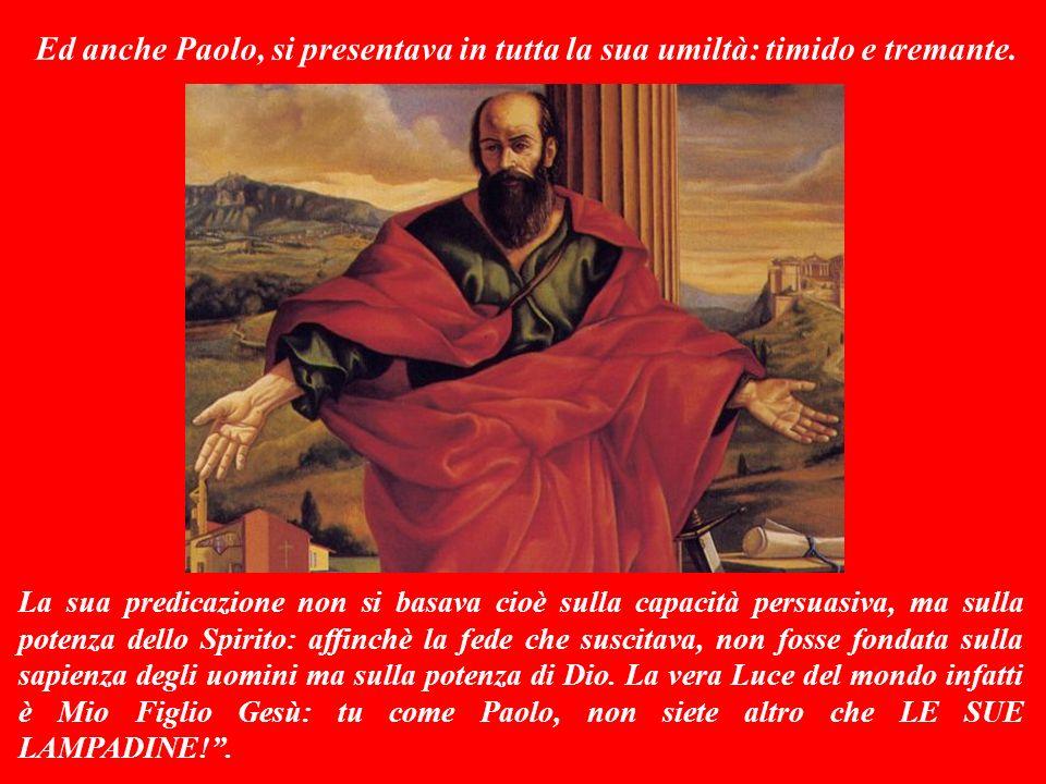 SECONDA LETTURA (dalla prima lettera di Paolo ai cristiani di Corinto 2,1-5) Questa lettera è Parola di Dio.