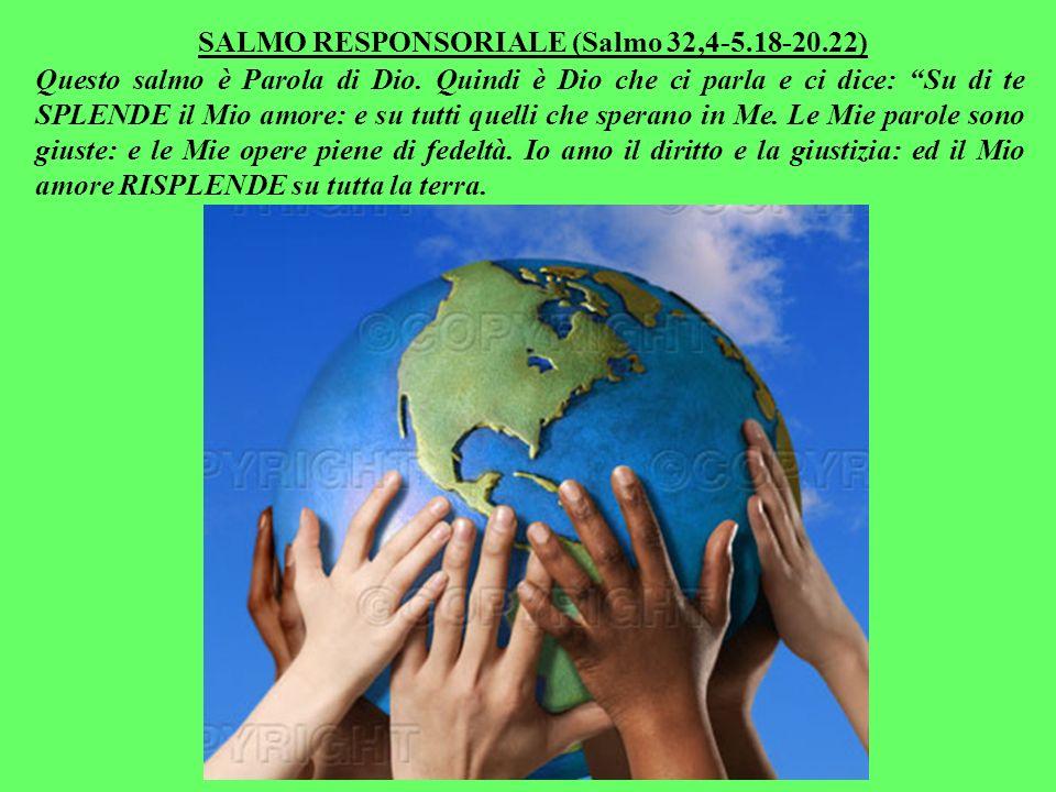 Benedirò quelli che ti benediranno: e maledirò quelli che ti malediranno. Sì, perché per mezzo tuo, sarà benedetta tutta la terra!». Ed Abramo, come I
