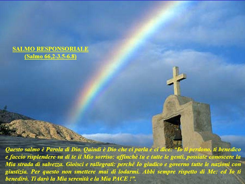 Questa lettura è Parola di Dio. Quindi è Dio che ci parla e ci dice: Io desidero che i sacerdoti vi benedicano, utilizzando questa formula che Io inse