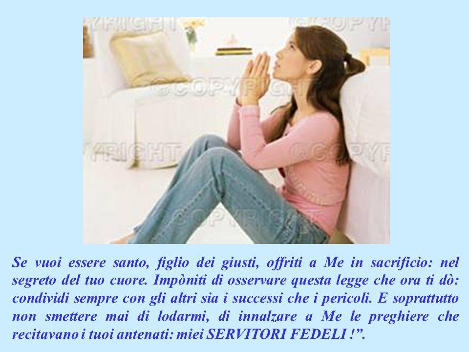 Questa lettura è Parola di Dio. Quindi è Dio che ci parla e secondo me ci dice: Coraggio: perché presto arriverà il giorno della tua liberazione ! PRI