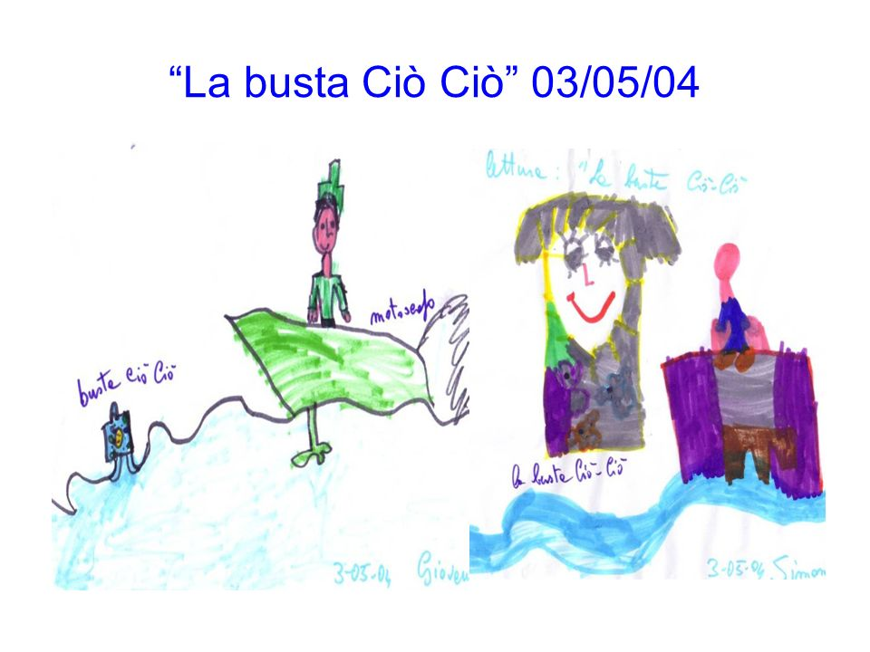 La busta Ciò Ciò 03/05/04