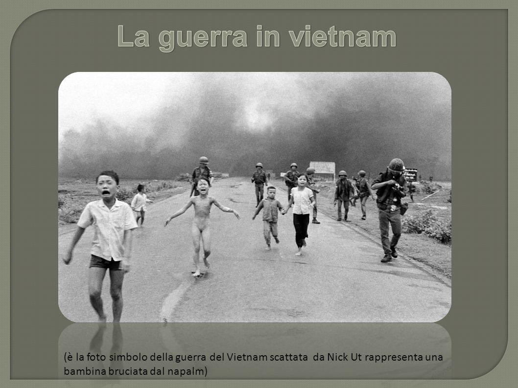 (è la foto simbolo della guerra del Vietnam scattata da Nick Ut rappresenta una bambina bruciata dal napalm)
