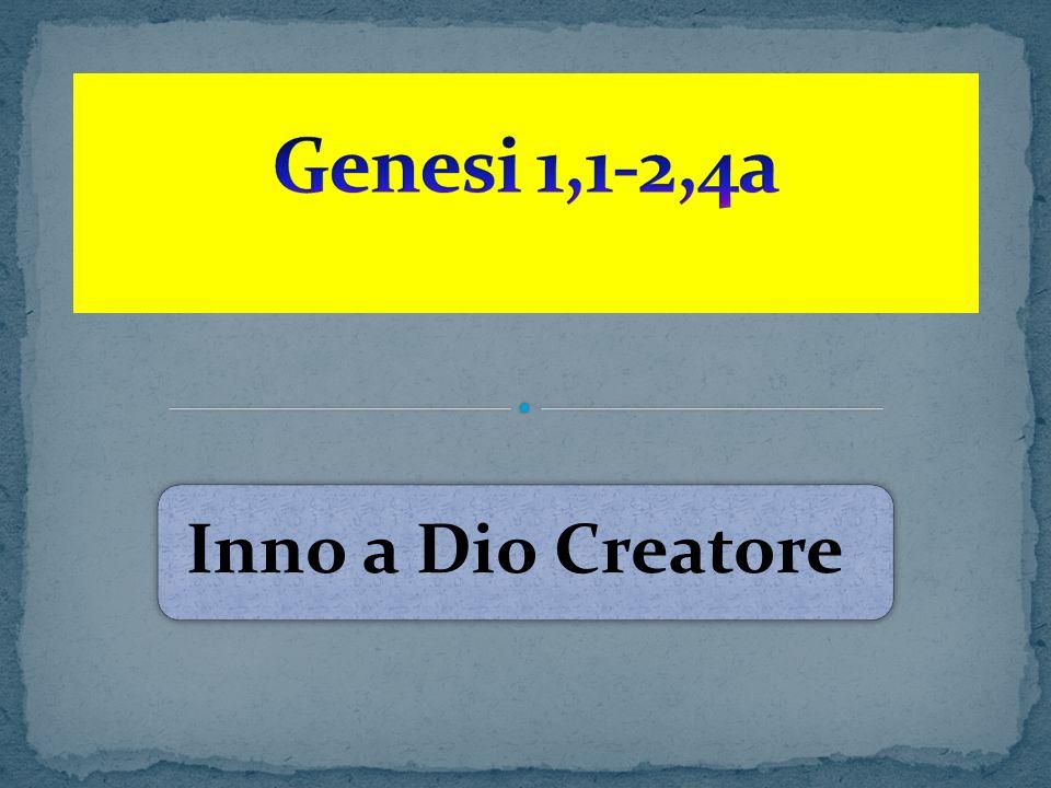 9 Dio DISSE : Le acque che sono sotto il cielo, si raccolgano in un unico luogo e appaia lasciutto.