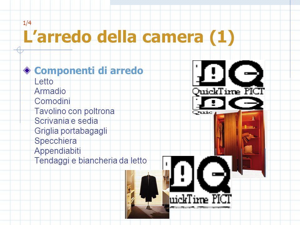 2/4 Larredo della camera (2) Dotazioni complementari Cassaforte Filodiffusione / impianto hi-fi Televisione Frigobar Sveglia automatica Dotazioni speciali per i clienti diversamente abili Attrezzatura dufficio