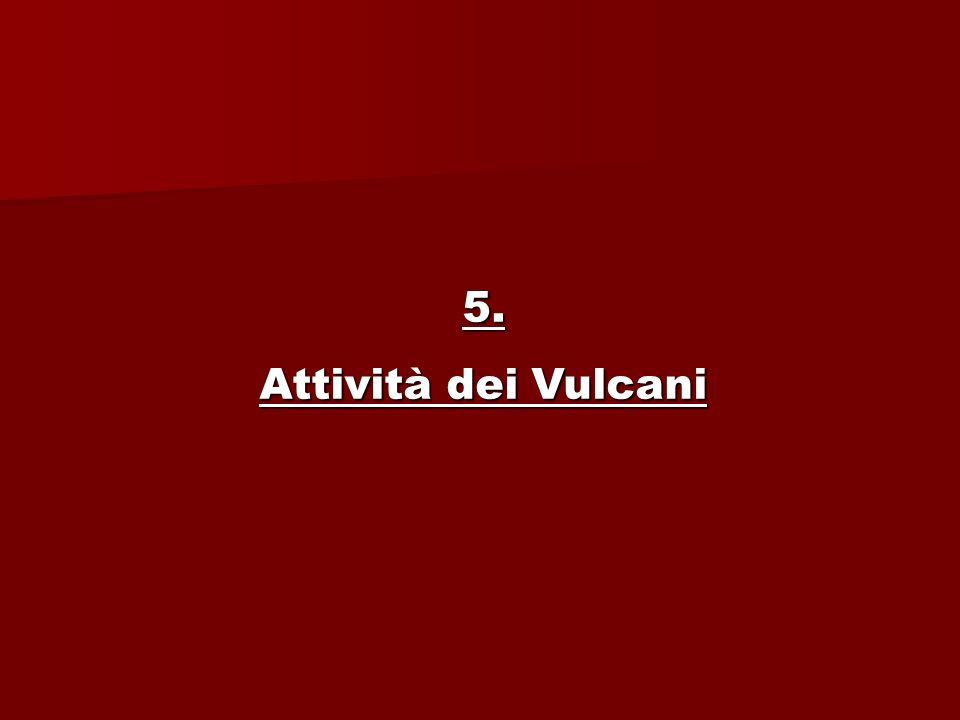 5. Attività dei Vulcani